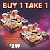 Dunkin' Donuts Buy 1 Take 1 Mondays 'til December 31