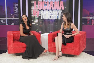 Amanda Djehdian e Luciana Gimenez - Crédito/Foto: Artur Igrecias/Divulgação RedeTV!