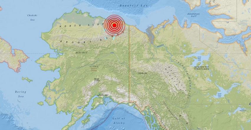 TERREMOTO EN ALASKA: Fuerte Sismo de Magnitud 6.1 en Estados Unidos - EE.UU. (Hoy Domingo 12 Agosto 2018) Temblor EPICENTRO - Katovik - USGS