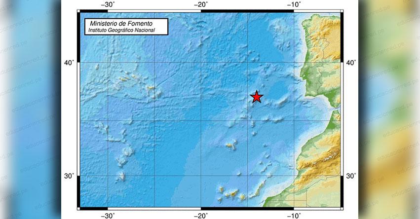 Temblor en España de Magnitud 4.0 - Sismo Epicentro - Cabo de San Vicente - Andalucía - IGN - www.ign.es