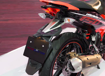 Spakbor Yamaha R25 new mirip punya MX king