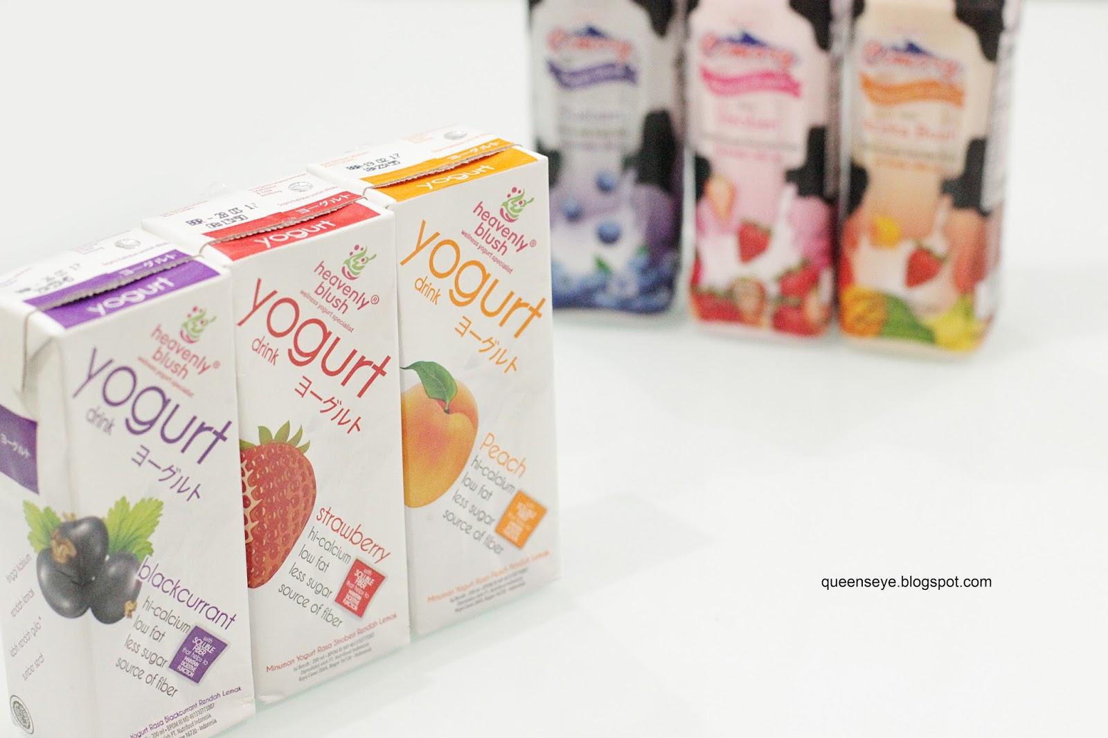 Heavenly Blush vs. Cimory, Mana Yogurt Pilihanmu?