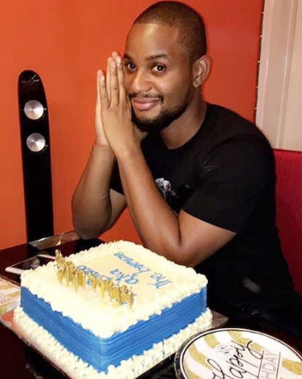 alexx ekubo birthday cake