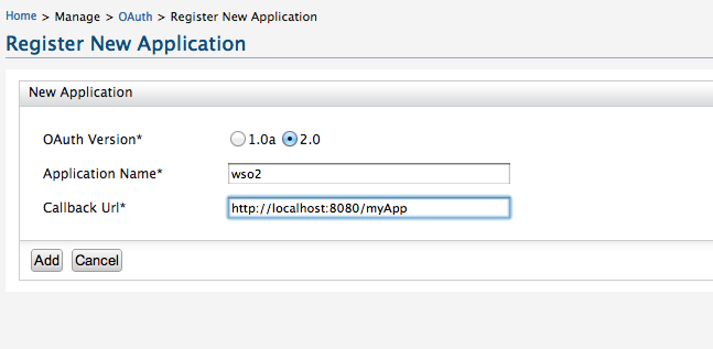 Testing WSO2 Identity Server OAuth 2 0 support with Curl