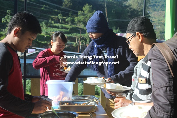 jasa catering dieng