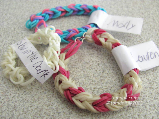 Crafty mail Elastic bracelets