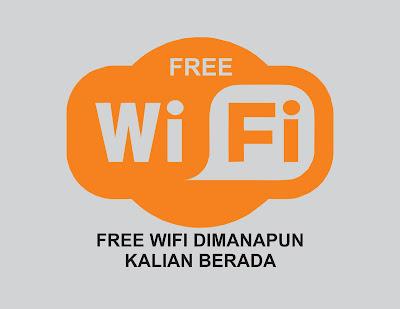 dapatkan wifi gratis dimana pun kalian berada
