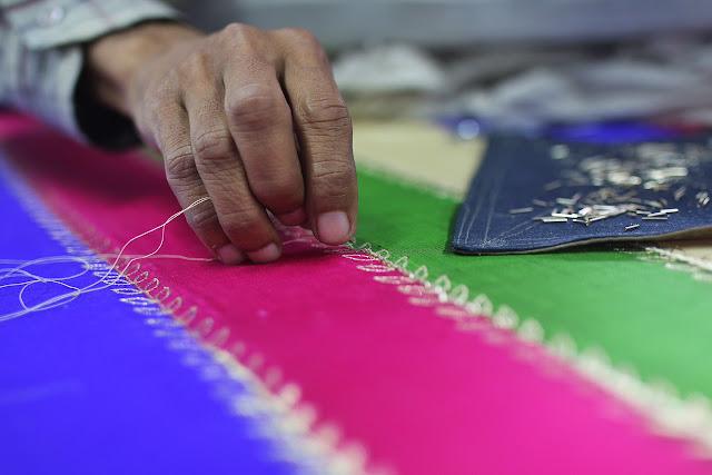 zardozi embroidery lucknow chowk