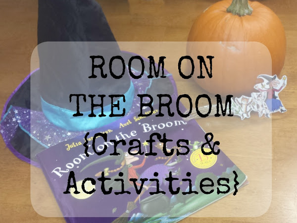 Book Of The Month - Room On The Broom