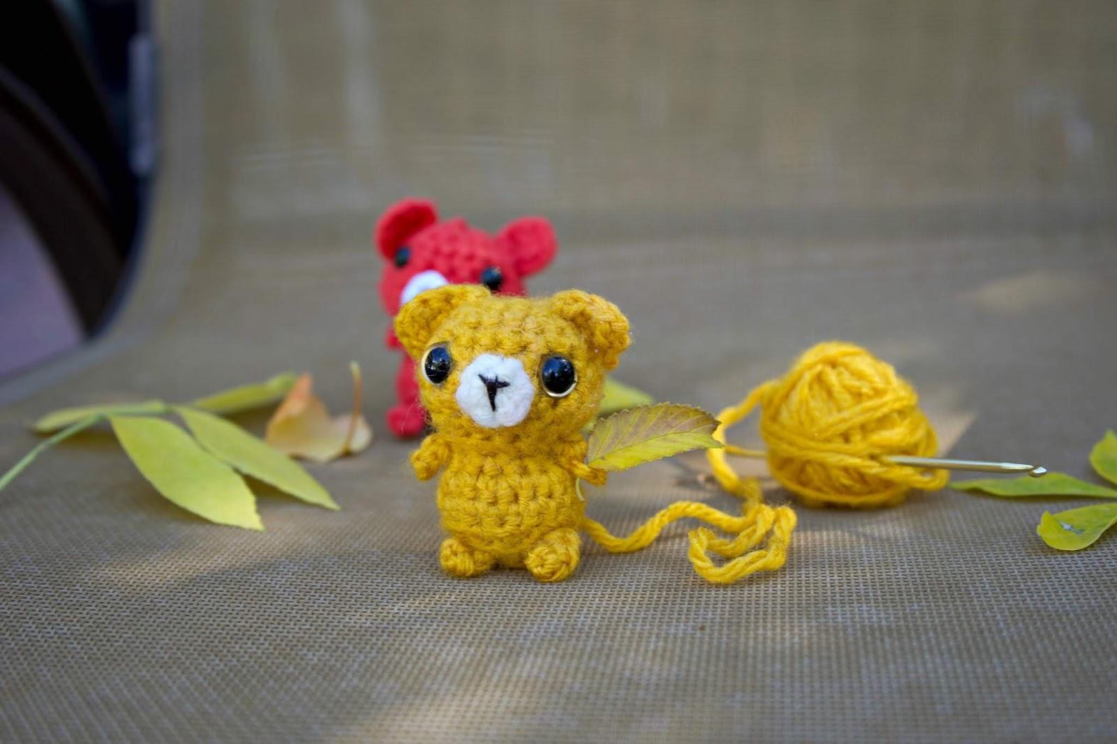 Amigurumi Mini Bear Crochet Pattern | 1066x1600
