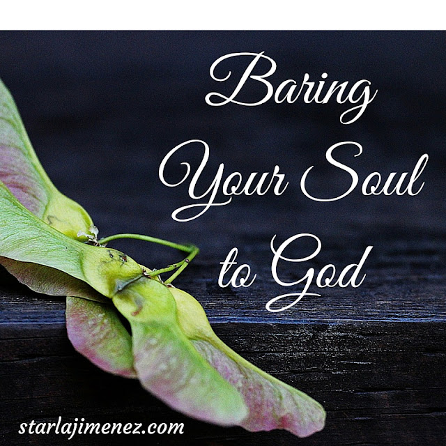 Baring Your Soul to God