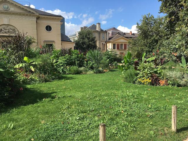 le jardin des plantes, merveilleux massifs