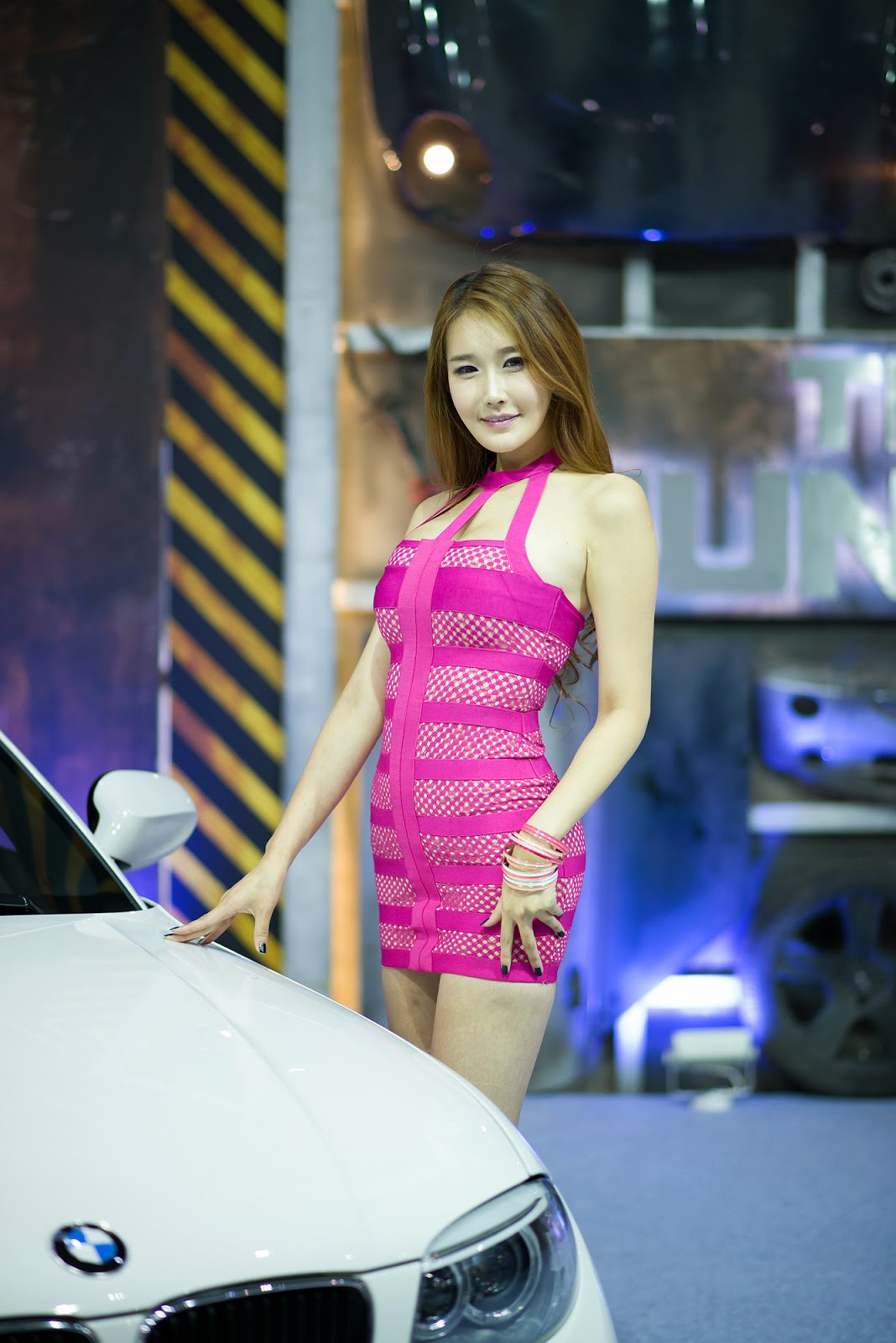 5 Lee Hyo Young - Seoul Auto Salon 2014 - very cute asian girl-girlcute4u.blogspot.com