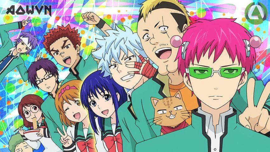 Saiki%2B %2BPhatpro - [ Anime 3gp Mp4 ] Saiki Kusuo No Ψ-Nan SS2 + 2 Ova SS2 + Ova 2013 | Vietsub - Cực Hài, Cực Bựa