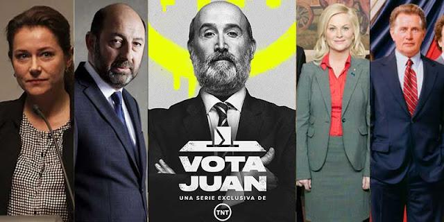 Series políticas, política, series, Vota Juan,
