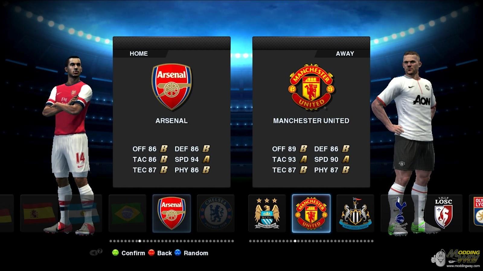 Pes patch download: pes 2013 demo champions league mod free download.