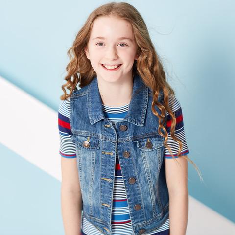 excellent quality new images of details for Seattle Artists Agency: Ella Parks Models Tommy Hilfiger in ...