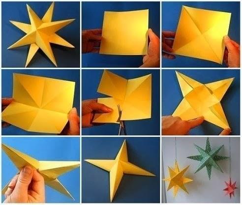 """Ми разом з """"Кенгуру""""!: Об'ємна зірка з паперу"""