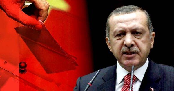 Πρόωρες εκλογές στην Τουρκία στις 24 Ιουνίου με καθεστώς έκτακτης ανάγκης ανακοίνωσε ο Ρ.Τ.Ερντογάν!