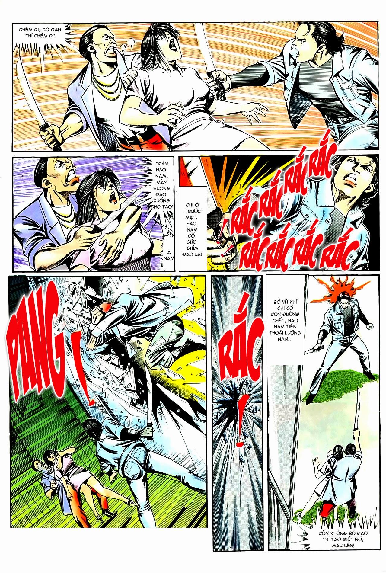 Người Trong Giang Hồ chapter 86: săn báo trang 15
