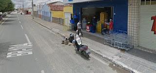 Dupla assalta supermercado no centro de Nova Floresta no final da tarde desta quinta-feira