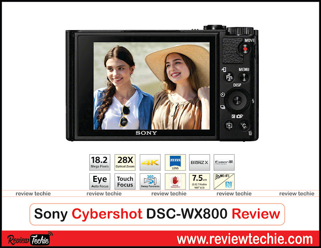 Sony Cybershot DSC-WX800 Review