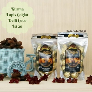 Kurma Lapis Cokelat Delli Coco