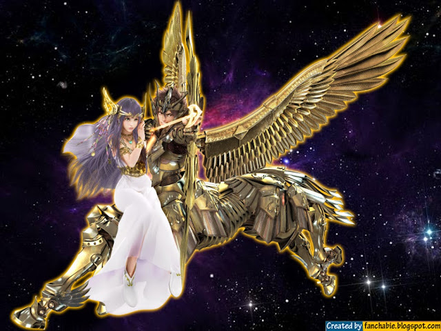The Bronze Saint who represents the constellation of Pegasus