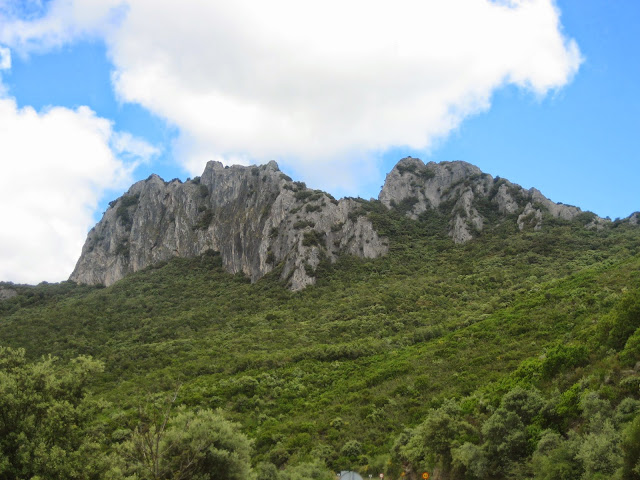 Penedos de Oulego en Rubiá Parque Natural Enciña da Lastra