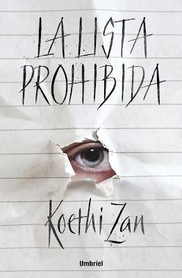 Resultado de imagen para la lista prohibida koethi zan reseña