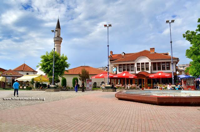 Ohrid city center
