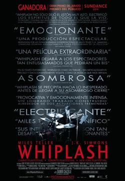 Whiplash: Música y obsesión poster
