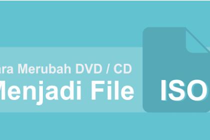 Cara Merubah DVD atau CD Menjadi file ISO Image dengan mudah Via Ultra ISO Trial version