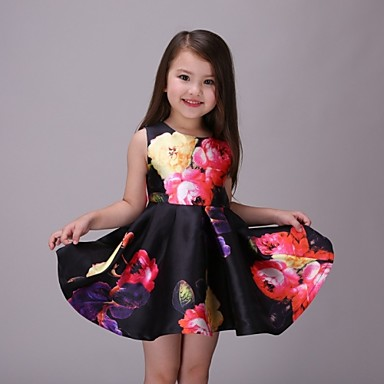 Modelos de vestidos de nina estampados