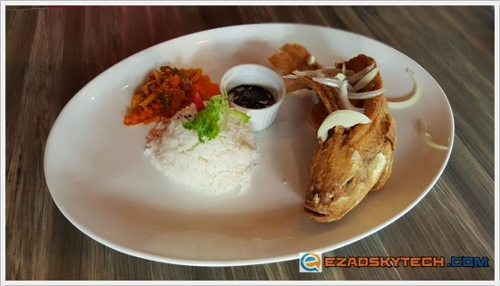 Flying Fish Rice With Soy Sauce U-Cafe Wangsa Walk