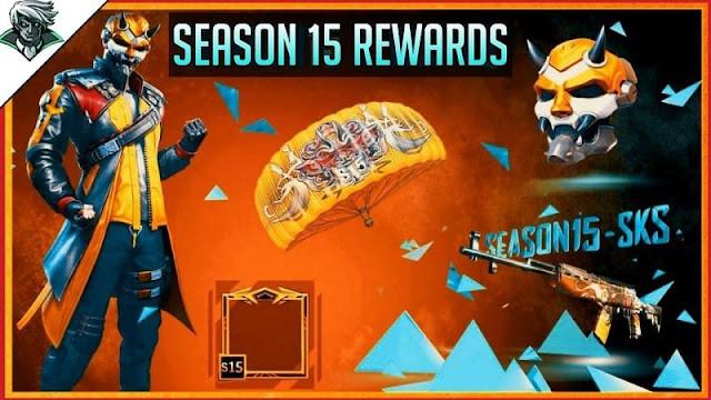 PUBG Mobile Sezon 15 ödülleri sızdırıldı!