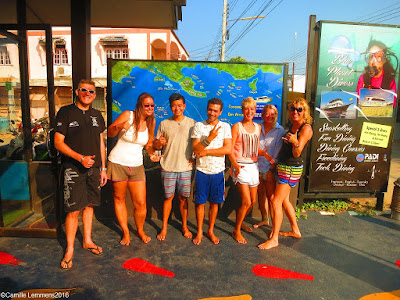 PADI IDC on Koh Lanta for March/April 2016 has started
