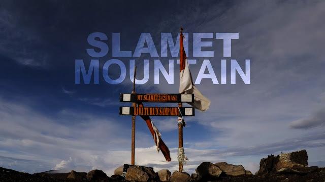 jalur pendakian gunung slamet