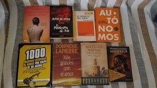 """Primer SORTEO del blog: """"8 libros 3 ganadores"""""""