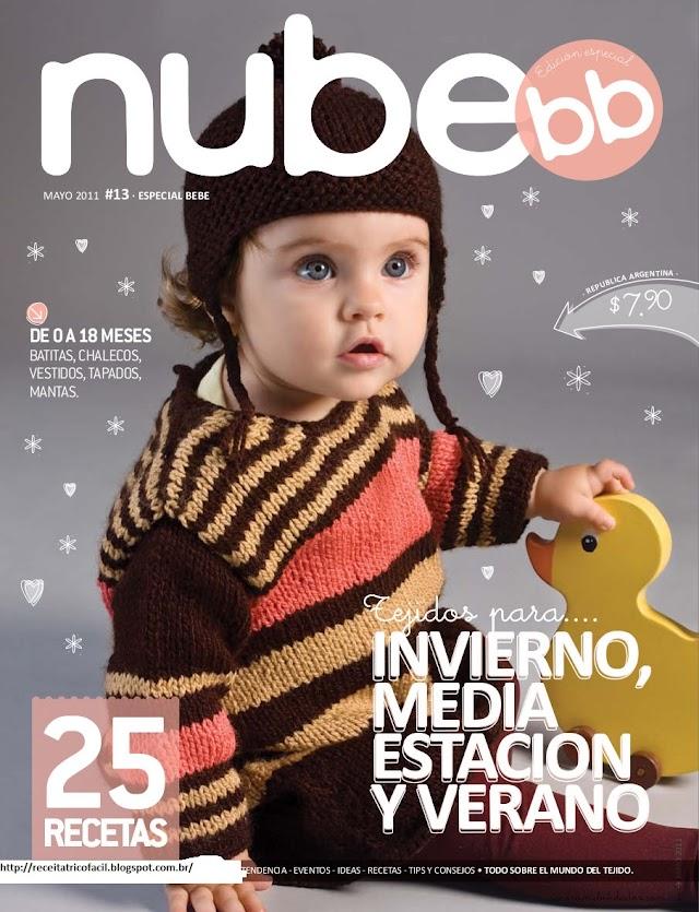 Nube Bebê-Revista Tricô em Espanhol