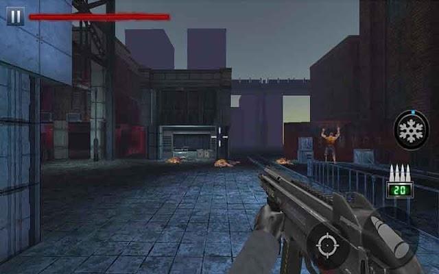 Zombie Shooter Fury of War v1.1 mod vàng & kim cương (gold diamonds) cho Android