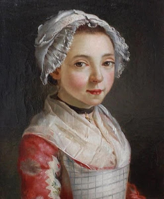 Jeune Servante, attribué à Françoise Duparc (ou Antoine Raspal)
