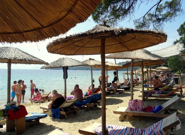 Vromolimnos Beach, Skiathos, Greece