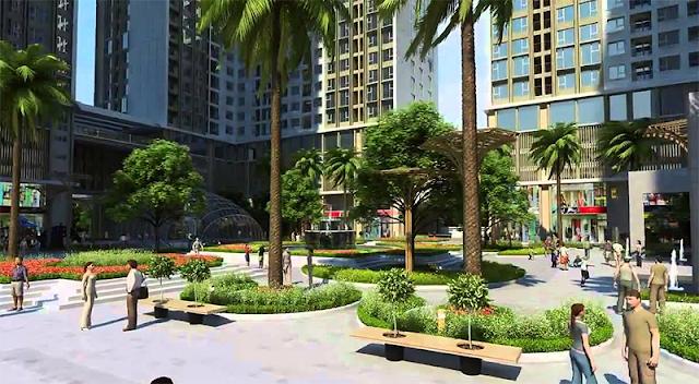 Không gian sống xanh tại Eco Dream Nguyễn Xiển