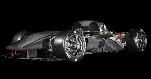 トヨタ GRスーパースポーツコンセプト テストカー