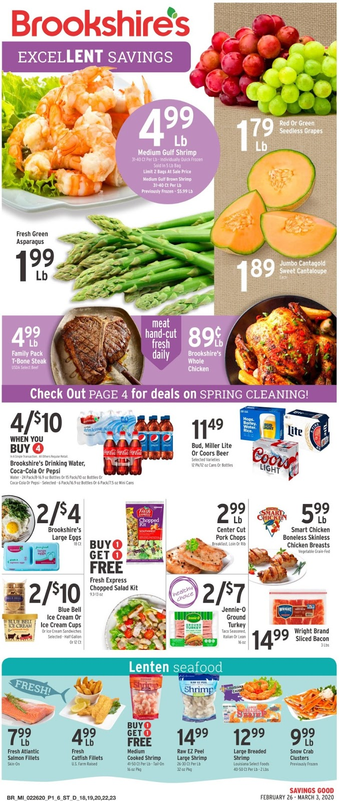 ⭐ Brookshires Ad 2/26/20 ⭐ Brookshires Weekly Ad February 26 2020