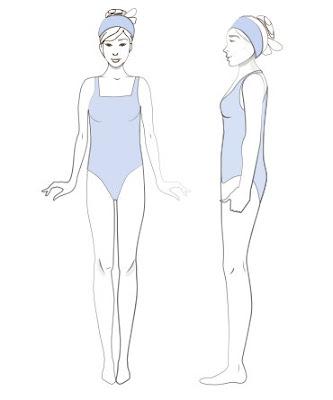 женская фигура Прямоугольник либо Н тип