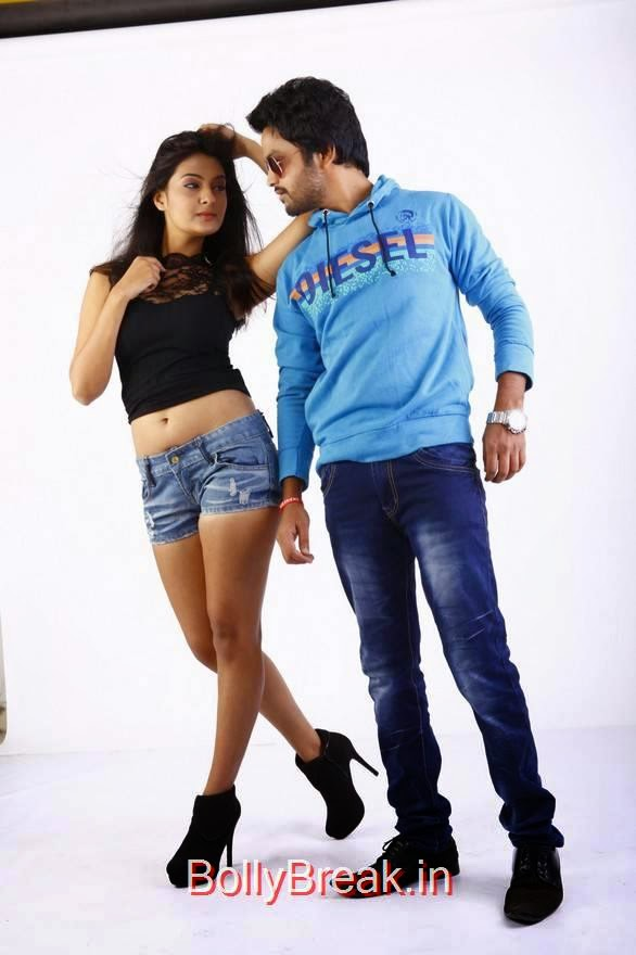 Rahul-The Bells Cinema Stills, Actress Neha Deshpande Hot Pics in Denim Shorts from The Bells Movie