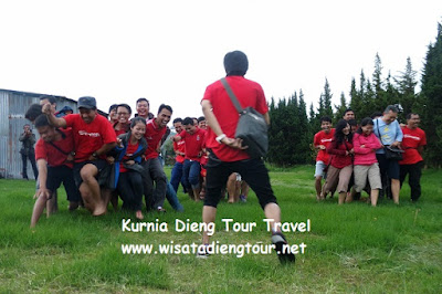 outbound gathering kantor di dieng
