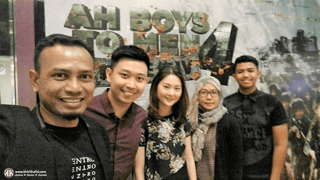 Ah Boys To Men 4, Sam Kassim Events and Communications, Khir Khalid,